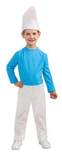 The Smurfs Movie 2 Smurf Costume, Large -