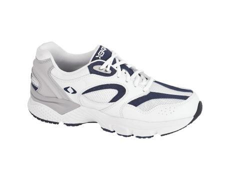 Apex Men's Boss RN X Last Running Shoe - White/navy 7 D(M) US