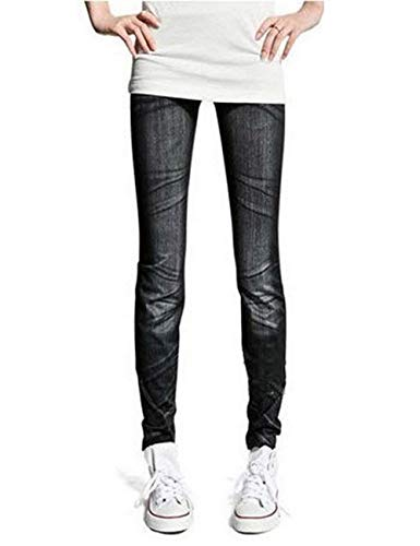 Fit Con Alta Boot Schwarz Womens Slim Bolsillos Cozy Pencil Stretch Botón Pantalones Jeans 2 Cintura Casuales Mujeres z1qXxw