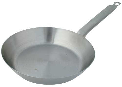 Johnson-Rose French Style Steel Fry Pan, 8-1/4 Inch  x 1-5/8 Inch (Fry Rose)