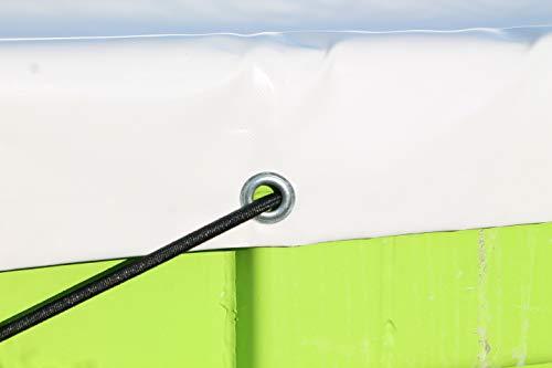 7 m3 Farben und Gr/ö/ßen TEGENSTEX PVC Containerabdeckplane f/ür Absetzmulde 580g//m/² in div Grau, 2,30m x 4,50m