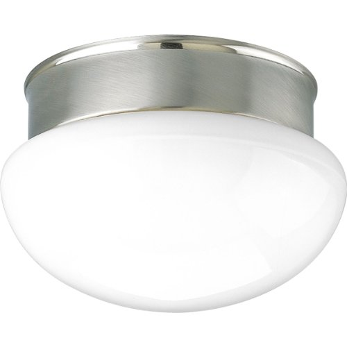 Progress Lighting P3410-09 2-Light Close-To-Ceiling Fixture, Brushed Nickel ()