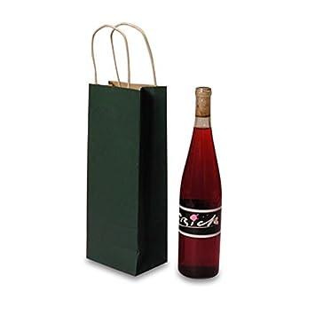 Amazon.com: Bosque verde bolsas de mango de vino | Cantidad ...