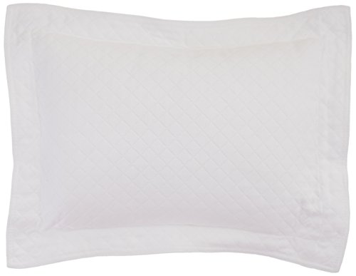 Lamont Home Diamante Boudoir Pillow, White