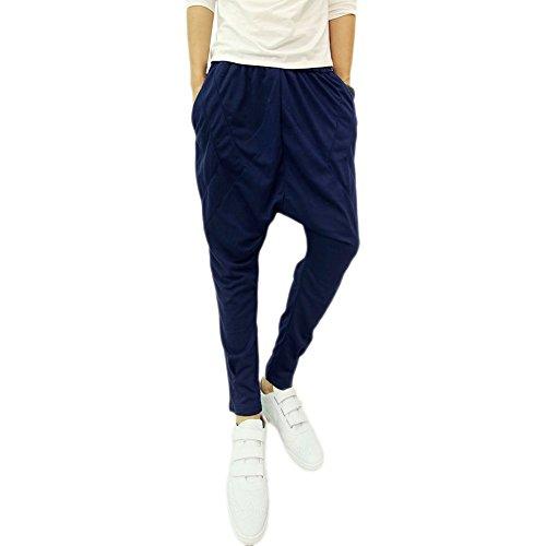 Magiftbox Mens Relaxed Fit Hip Hop Sweatpants Harem Pants