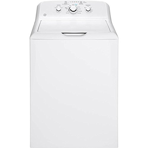 GE GTW330ASKWW 3.8 Cu. Ft. White Top Load Washer