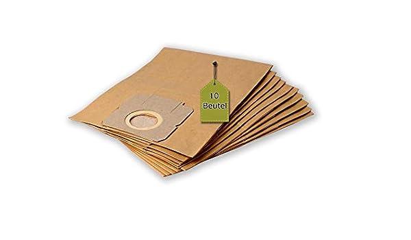 eVendix Bolsa para aspiradora Adecuada para Moulinex 300 EL - Vectral   10 Bolsas de Polvo + 2 microfiltros + 2 filtros de Motor   Similar a la Bolsa Original: W 56: Amazon.es: Hogar