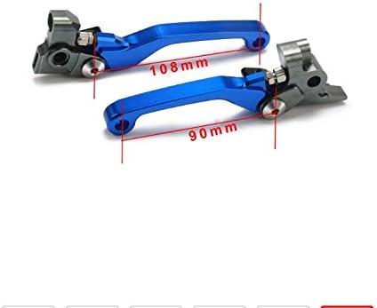 Colore : Blue NO LOGO Cavi KF-Freno Motociclo CNC Pivot Frizione del Freno Leve for Husqvarna TE250 TE300 Te FC Fe 350 400 250 300 450 500 501 2014 2015 2016 14 15 16