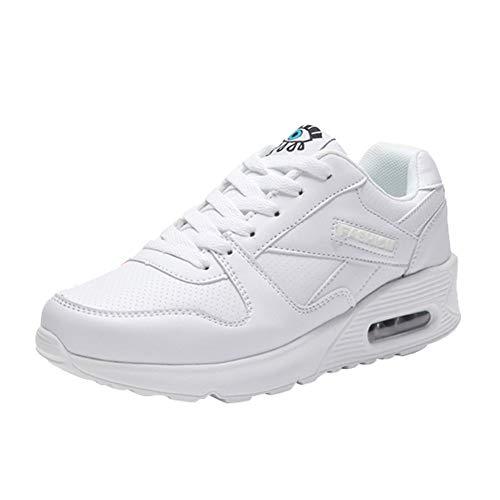Wohnungen Weiß Mode Schuhe Schuh Milktea Freizeitschuhe Sneaker Damen up Damen Outdoor schuhe Damen Stiefel Wanderschuhe Lace vYwFIqZF