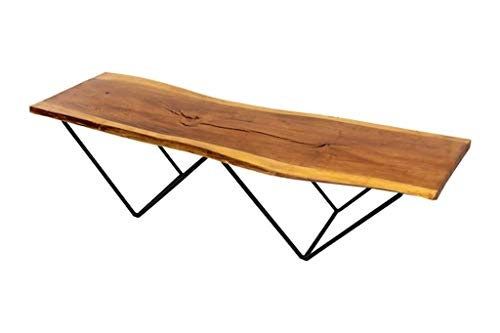 Live Edge Coffee Table or Bench – Custom Wood Furniture – Handcrafted Furniture