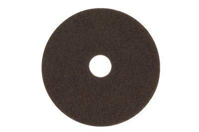 3M (7100) Brown Stripper Pad 7100, 17 in
