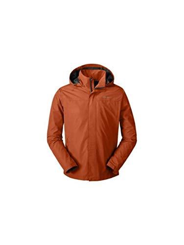 High Performance Mens Jacket - Eddie Bauer Men's Rainfoil Packable Jacket, Spice Regular XXL