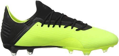 Hombre Para White core Adidas solar Yellow 0 Fg Amarillo footwear 18 De Fútbol Black 2 Botas X xgpqw8T