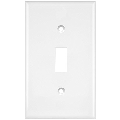 (ENERLITES Toggle Light Switch Wall Plate, Size 1-Gang 4.50