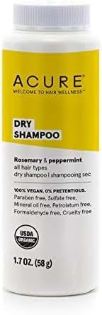 Dry Shampoo: Acure Dry Shampoo