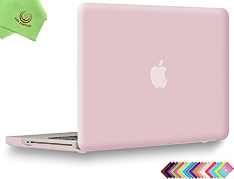 UESWILL Smooth Soft-Touch Matte Hard Shell Case Cover for MacBook Pro 13