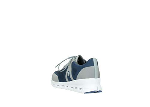 Wolky Comfort Trainers 02050 Nano 90820 Denim-grey Mesh Upper discount recommend sale low shipping fee release dates sale online sneakernews OR2l7t