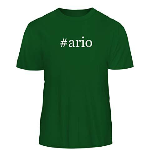 Tracy Gifts #Ario - Hashtag Nice Men's Short Sleeve T-Shirt, Green, Small ()