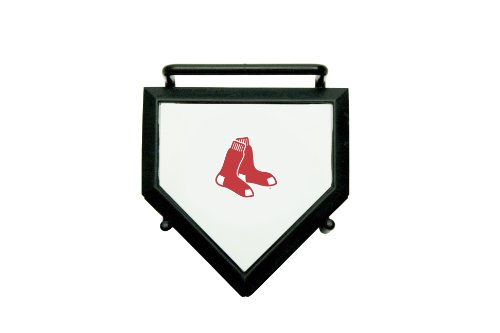 MLB Boston Red Sox Home Plate 4-pack Coaster Set]()