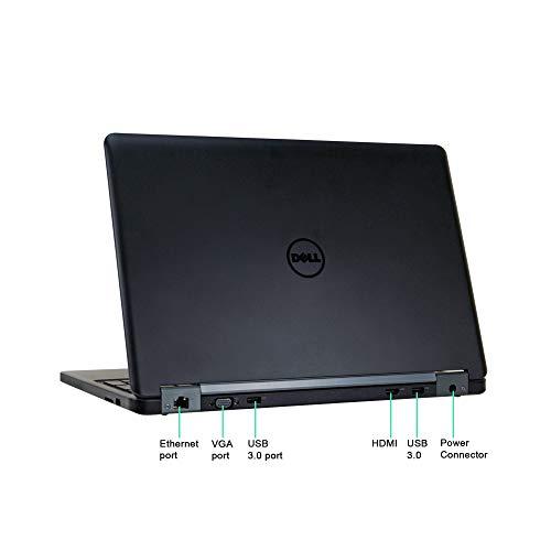 Dell Latitude E5550 15.6in Laptop, Core i7-5600U 2.6GHz, 8GB Ram, 500GB SSD, Windows 10 Pro 64bit (Renewed)