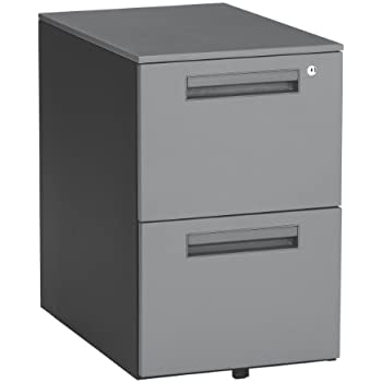 Amazon Com Ofm Drawers 15 5 Quot X 23 Quot Gray Kitchen Amp Dining