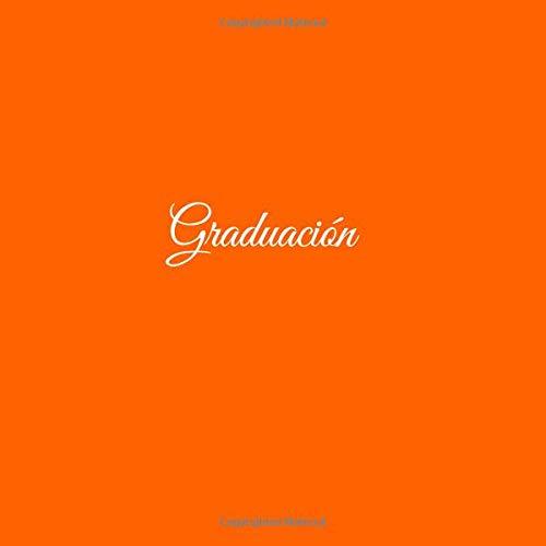 Libro de recuerdos Libro De Visitas para Banquetes de Graduación Fiestas ideas regalos decoracion accesorios graduacion firmas ... escuela Cubierta Naranja ...