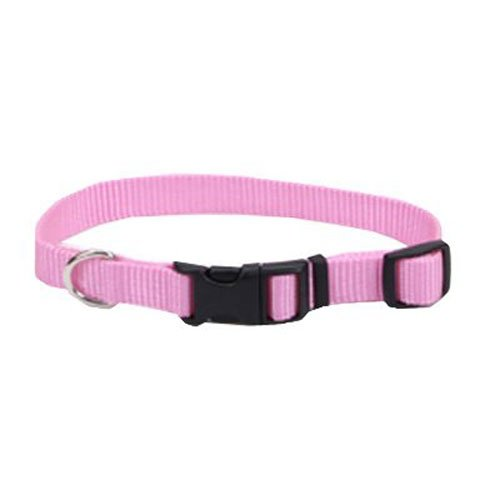 Coastal Pet 06401 A PKB14 Adjustable Collar, 5/8-Inch, Pink