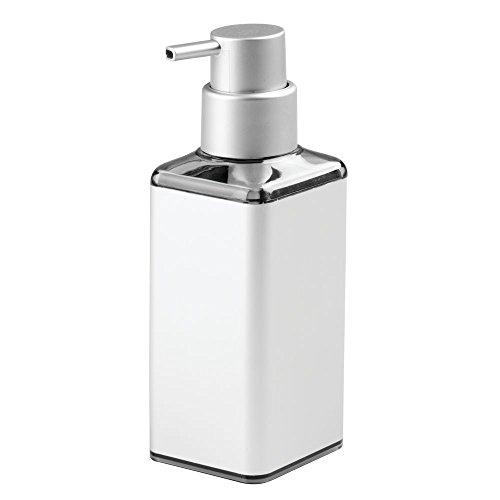 - InterDesign Metro Ultra Rustproof Aluminum Soap Dispenser Pump for Kitchen or Bathroom Countertops, Silver