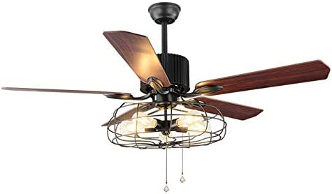 HAIXIANG - Lámpara de techo industrial con mando a distancia ...