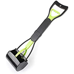 Go get it now Dog Waste Pooper Scooper Poop Clean Cleaner Pet Products Accessories Tools Floor Cleaning for Dogs Poo,Green,XXXL