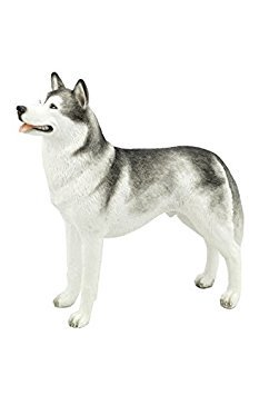 (Siberian Husky Puppy Dog Animal Figurine 76376)