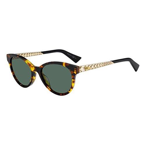 Dior Diorama 7S 02IKQT Havana Gold Oval - Diorama 7 Sunglasses