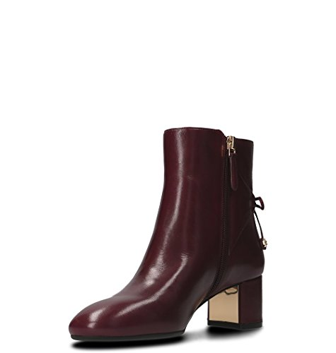 Tory Bordeaux Burch Femme Bottines 40289500 Cuir f8rfxqz