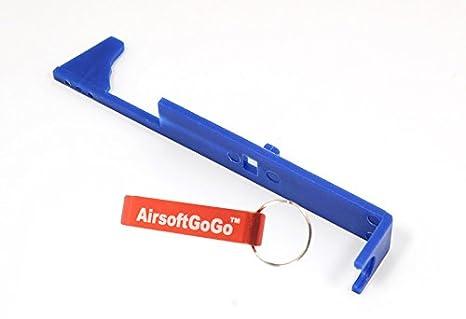 AirsoftGoGo Llavero Incluido NB0001 SHS Airsoft Tappet Plate para Ver.2 Gearbox