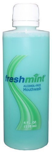 Freshmint 4 oz. Alcohol Free Mouthwash , Case of 60