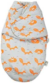 Newborn 100% Cotton Swaddle, Autumn and Winter Anti-Shock Baby Sleeping Bag