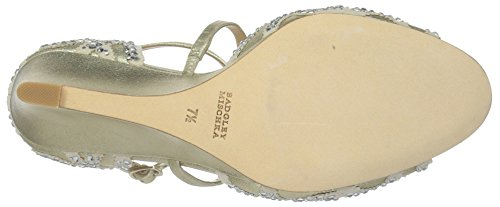 Mischka Platino Winter Women's Badgley Wedge Sandal 6Fzxqw