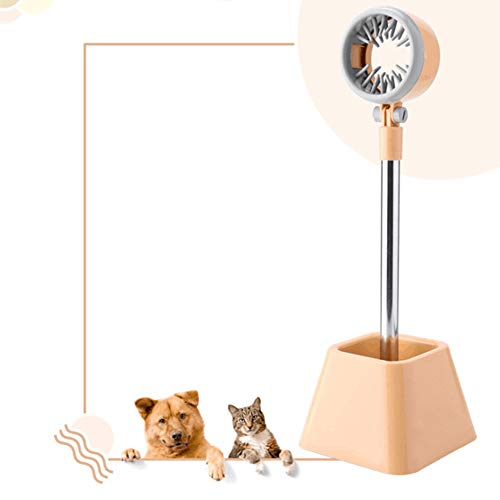 - QuTess Dryer Stand Hands Free Pet 180 Angle Rotatable Stand Hair Dryer Holder for Hair Styling Pet Grooming