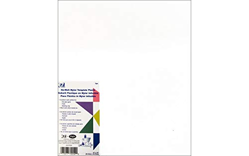 (Simplicity Creative Group, Inc EZ Quilting 882670050 No Melt Mylar Template, 12 18-Inch)