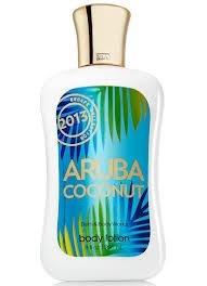 Bath Body Works Aruba Coconut 8.0 oz Body Lotion