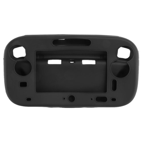 Cheap TOOGOO(R) Soft Silicone Gel Case Cover Protection for Wii U Gamepad Controller Black