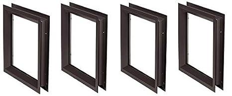 12 x 12 Pack National Guard Lfra100Dkb12X12 Window Frame Kit 3-