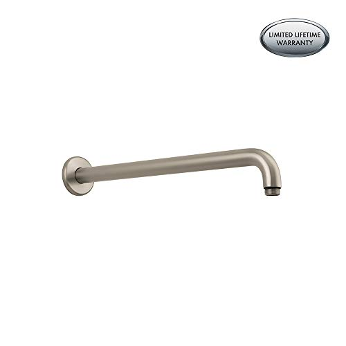 Hansgrohe 27413821 Shower Arm, 15-Inch, Brushed Nickel