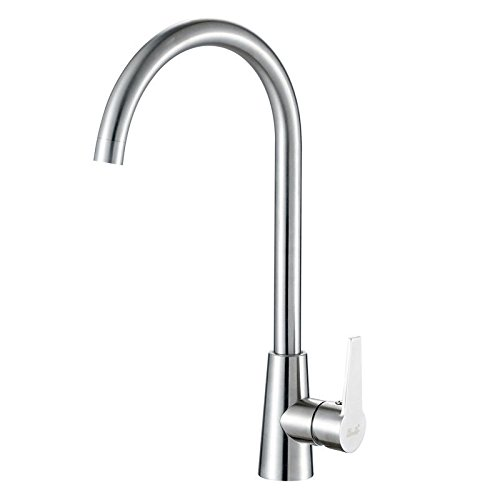 Gyps Faucet Basin Mixer Tap Waterfall Faucet Antique Bathroom Stainless steel kitchen cold water faucet single hole sink kitchen sink to turn the tap. Bathroom Tub Lever Faucet