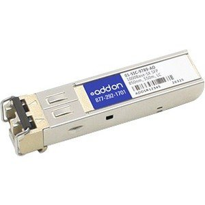 AddOn Sonicwall 01-SSC-9789 Compatible 1000Base-SX SFP Transceiver (MMF, 850nm, 550m, LC) 01-SSC-9789-AO by Add-onputer Peripherals, L