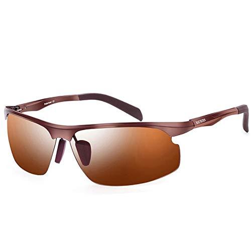 Hombre Gafas Sol Libre al Aire Espejo Aluminio Mjia Gafas Pesca Magnesio polarizadas Deportivas Drive sunglasses de RwqBtIq
