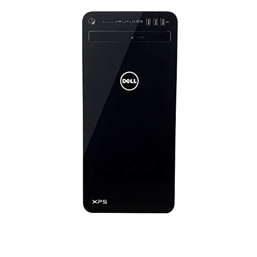 Dell XPS 8930-7814BLK-PUS Tower Desktop - 8th Gen Intel Core i7-8700 Processor, 32GB DDR4 RAM, 1TB Hard Drive + 16GB Intel Optane Memory, 6GB Nvidia GeForce GTX 1060, DVD Burner, Windows 10 Pro, Black