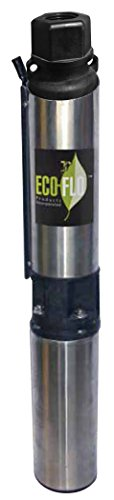 ECO-FLO Products EFSUB7-122 Submersible Deep Water Well P...