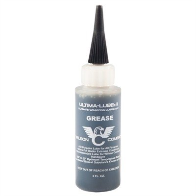 Wilson Combat Ultima-Lube II Grease 2 oz. Bottle 579-2 (Proper Way To Hold And Shoot A Pistol)