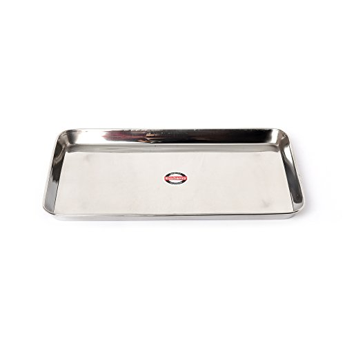 Embassy Deep Tray (Rectangle), Size 1, 18.5×29.5 cms (Pack of 1, Stainless Steel) Price & Reviews